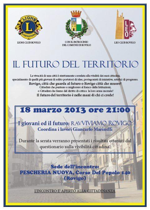 Ravviviamo Rovigo 18.03.2013