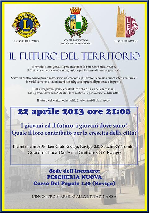 Ravviviamo Rovigo 22.04.2013